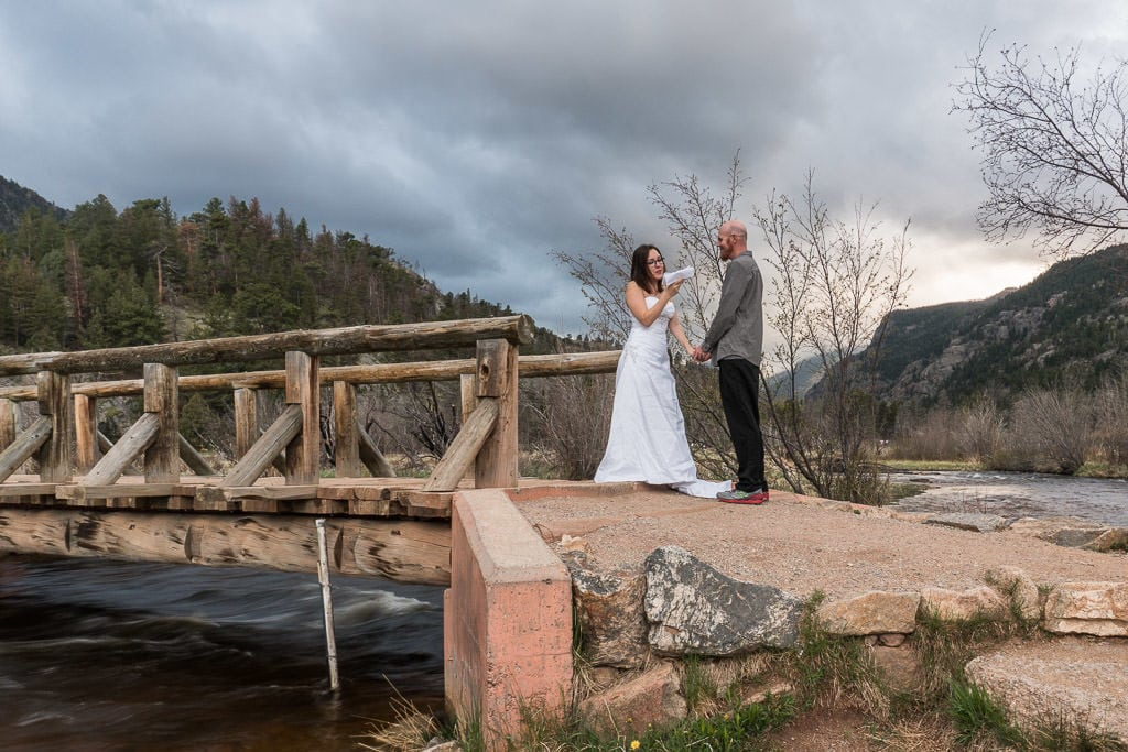 reading vows in rocky mountain national park