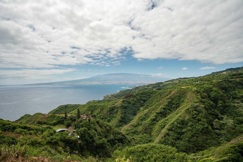 Overlook on the West Maui Loop