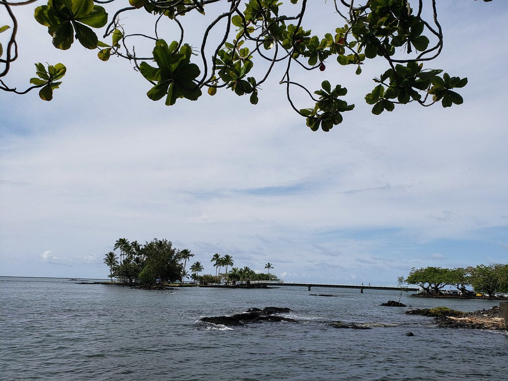 view of coconut island near Liliuokalani Park - things to do in hilo
