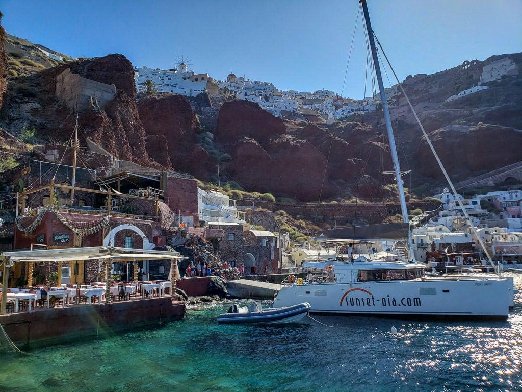 santorini sailing tour must-do santorini activity