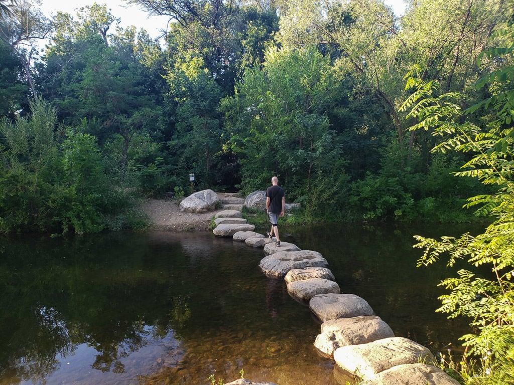 boulder getaway hike boulder creek