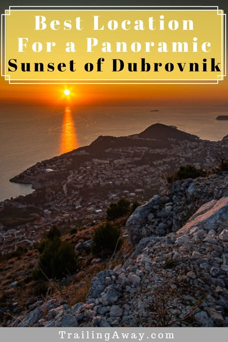 The view of Dubrovnik, Croatia, and the Adriatic Sea from the top of Mount Srd and Fort Imperial is worth it regardless of how you get there! Might I suggest sunset? #dubrovnik #mountsrd #croatia #adriatic