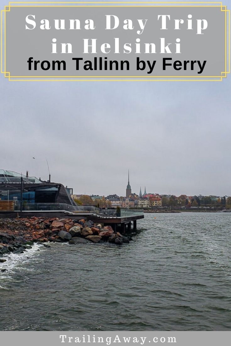 Ever dipped in the frigid Baltic Sea? We didn\'t know we\'d want to until an awesome Helsinki sauna day trip. It\'s all possible on a quick ferry from Estonia! #spa #europe #saunaday #helsinki