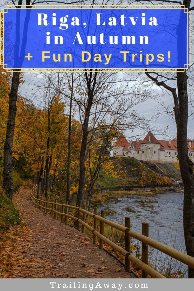 Planning a Riga sightseeing trip? Going in autumn is a wonderful idea and there are great day trips from Riga as well - for lots of colorful drives in Latvia. #riga #baltics #autumn #latvia