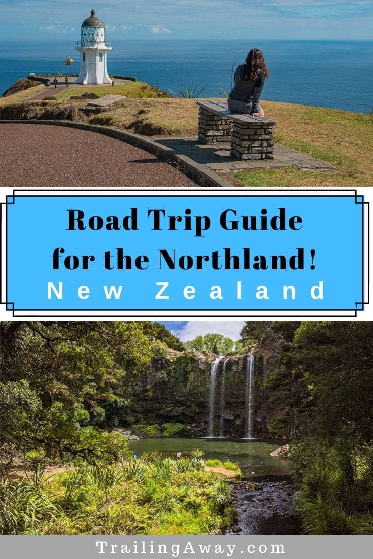 Wondering if you should visit Northland New Zealand? From Waipoua Forest and Cape Reinga to Bay of Islands and Haruru Falls - read our Northland road trip tips. #northland #newzealand #roadtrip #beachdestination #capereinga #bayofislands
