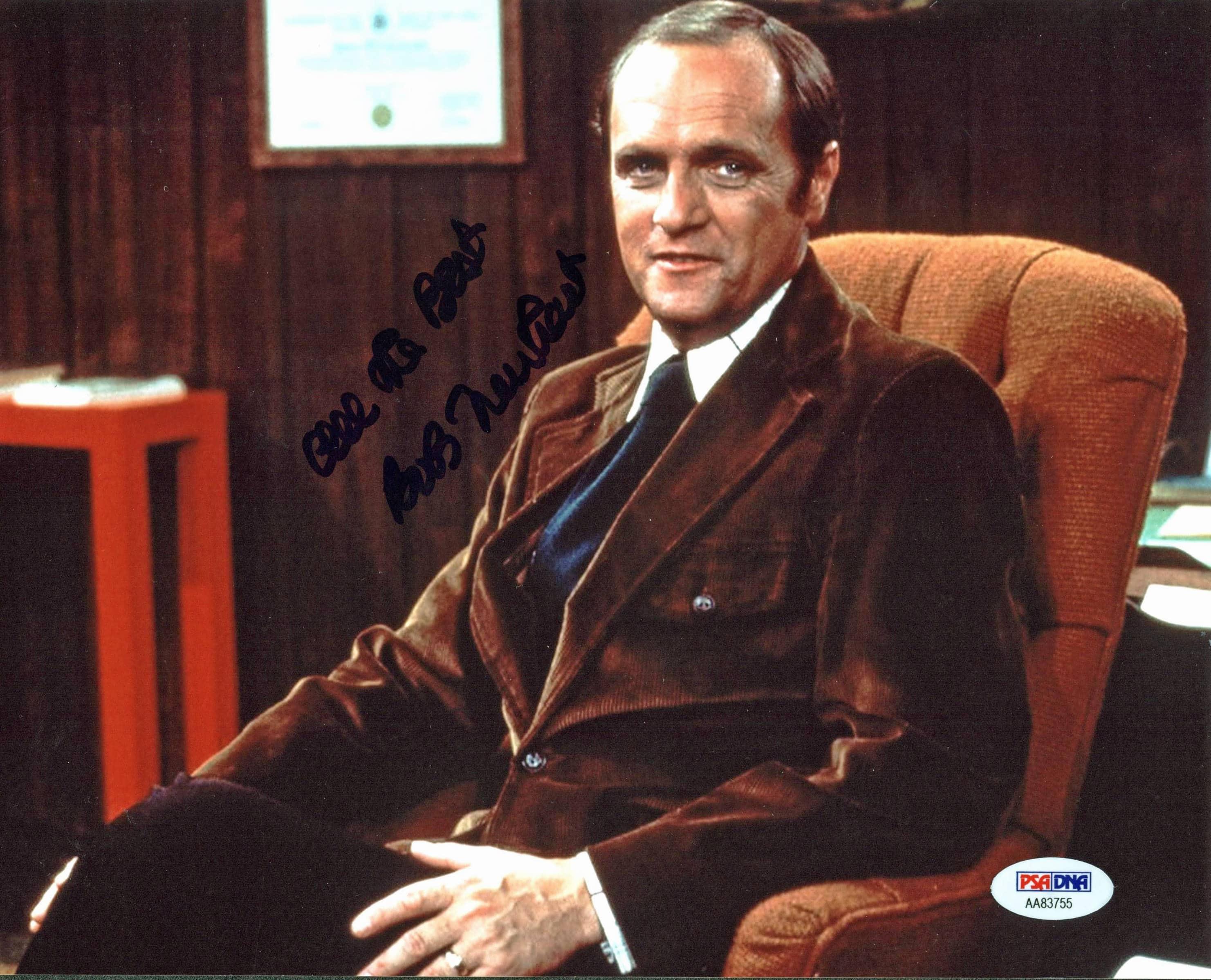 Bob Newhart The Bob Newhart Show Authentic Signed 8x10 Photo PSA/DNA #AA83755