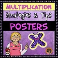 Strategies and Tips Multiplication Posters