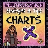 Multiplication Strategies and Tips Chars