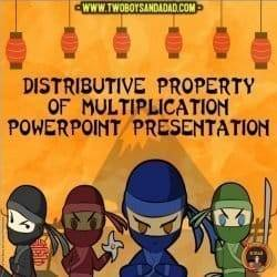 PowerPoint for the Distributive Property of Multiplication