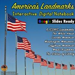 American Landmarks for Google Slides