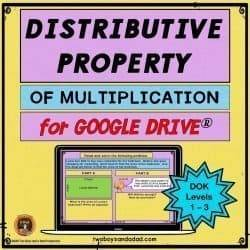 Google Slides Distributive Property