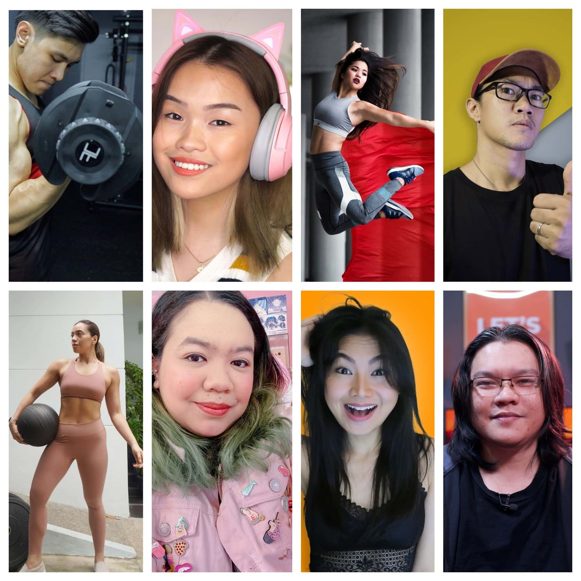 Unbox Creator Network welcomes its new and upcoming tech and fitness creators!