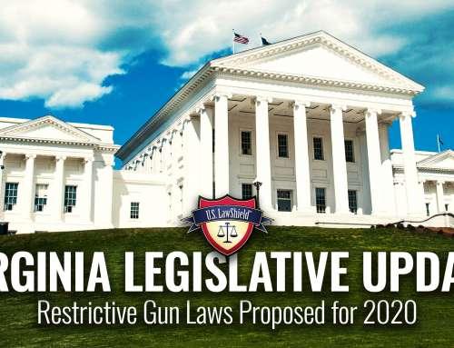 Virginia Legislative Update: Restrictive Gun Laws Proposed for 2020