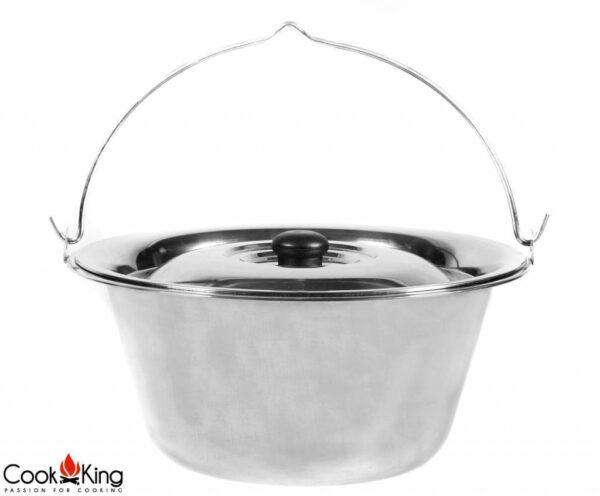 Cookking Hongaarse RVS Ketel 10L/14L – ketel rvs 10L