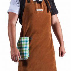 Lederen schort CookKing