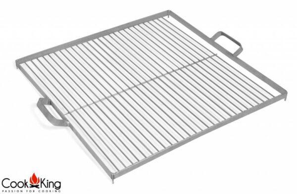 Cookking grillrooster black steel/rvs vierkant diverse formaten