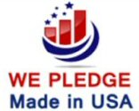 We Pledge Made in USA Candy for Halloween
