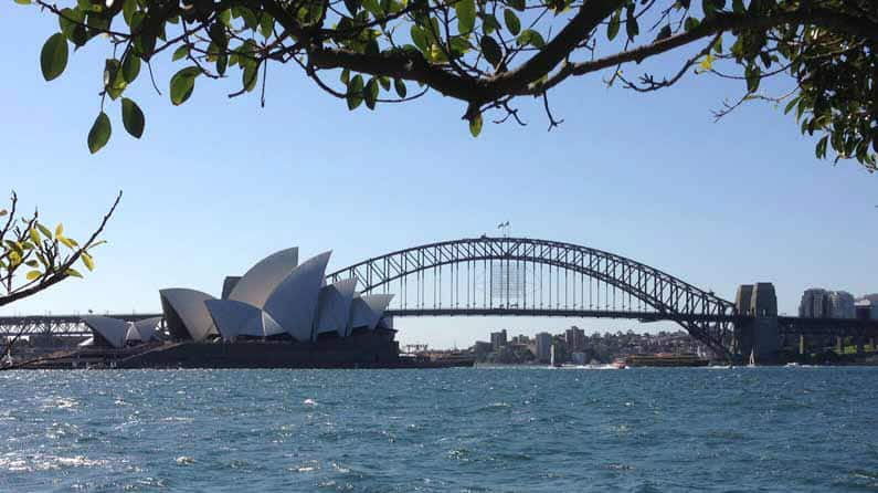 Sydney Opera House and Sydney Harbour Bridge - Henny Jensen