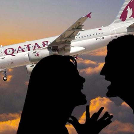 Plane Forced To Land After Wife Discovering Her Husband's Affair
