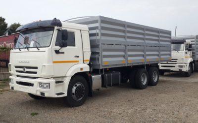 Бортовой автомобиль зерновоз Камаз 65115, объем 32 куб.м