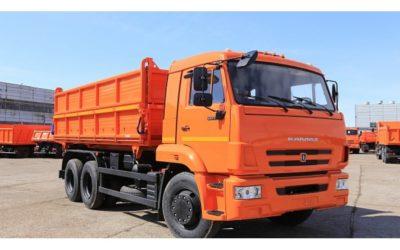 Самосвальный автомобиль сельхозник Камаз 45143-6012-48 (50) Е-5, объем 15,2 куб.м
