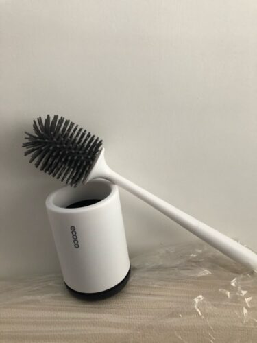 Hygienic Silicone Toilet Brush photo review