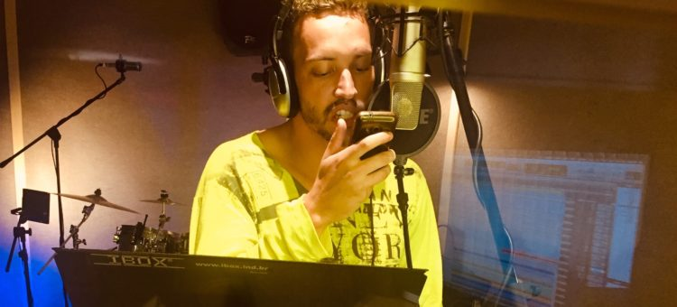 CA$HBOY gravando TRAP aqui no The Village!