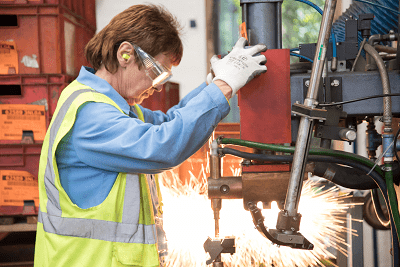 projection welding and fabrication sales boost