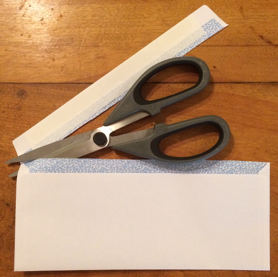 How to Pack - Remove Envelope Gummed Edge