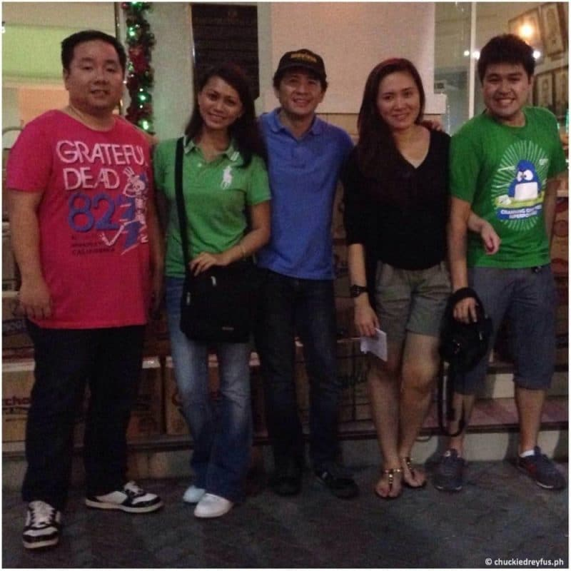 KTG Iloilo Entourage (Richard Co, Yen Dreyfus, Chuckie Dreyfus, Tippy Go & Anthony Go)