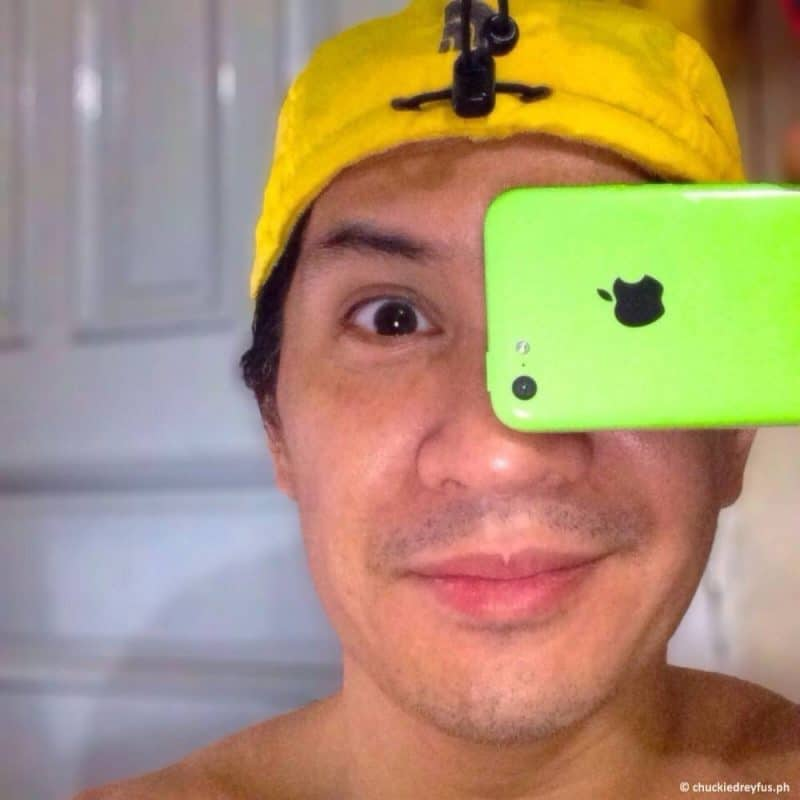 Me and iPhone 5C