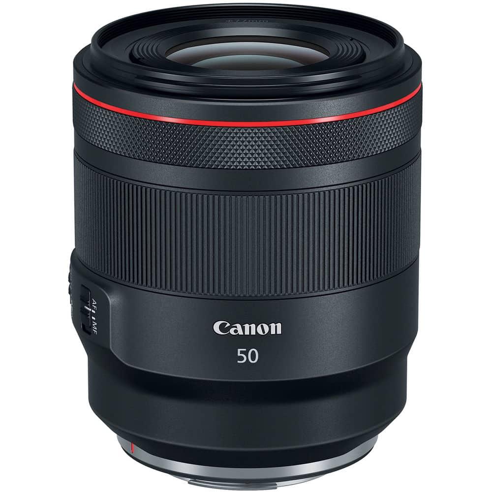 Canon RF 50mm f/1.2L USM ideal pour le Canon R5