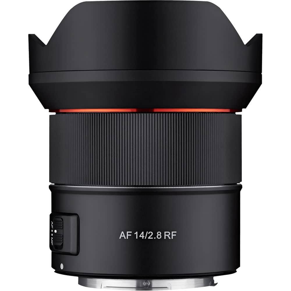 Samyang AF 14mm f/2.8 RF meilleur objectif pour Canon R5