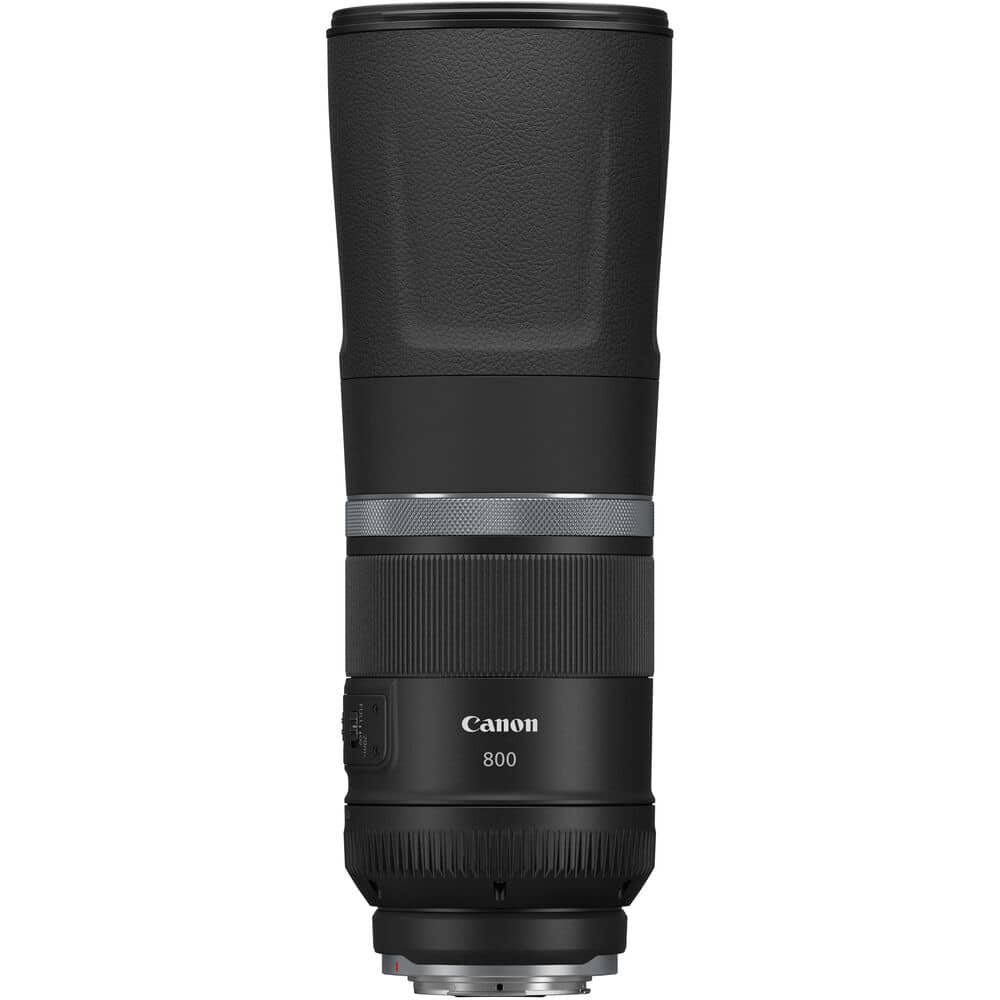 Canon RF 800mm f/11 IS STM meilleur objectif hybride Canon r5