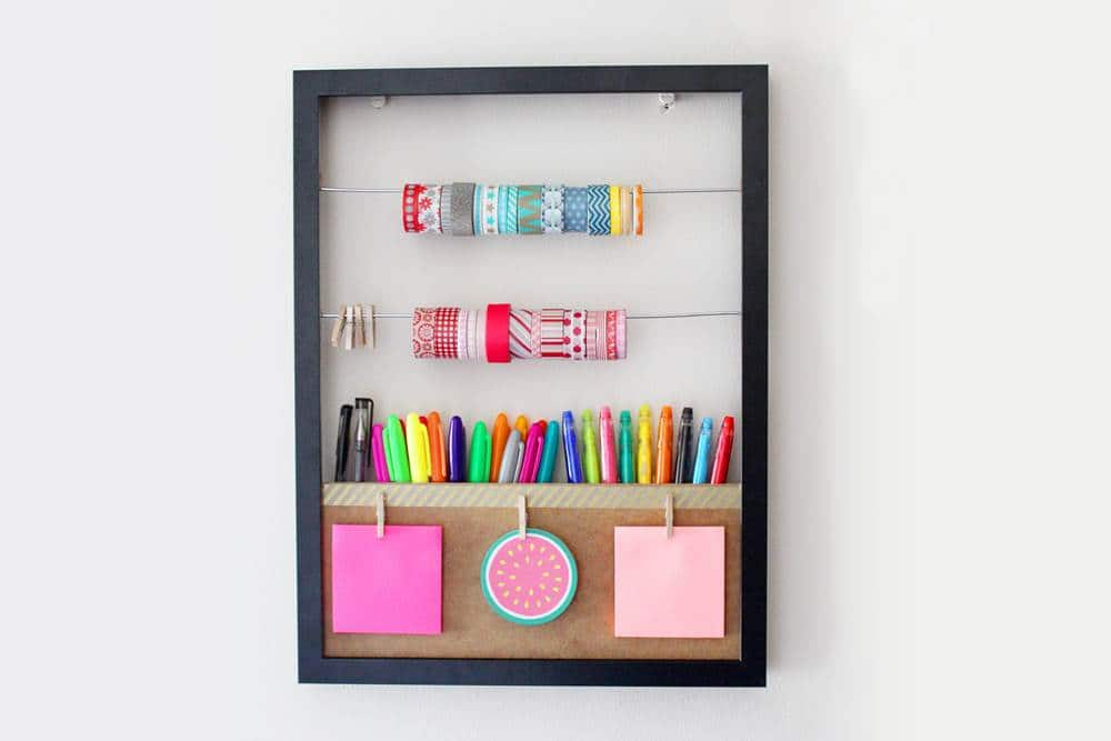 DIY washi Tape storage. how to store washi tape diy