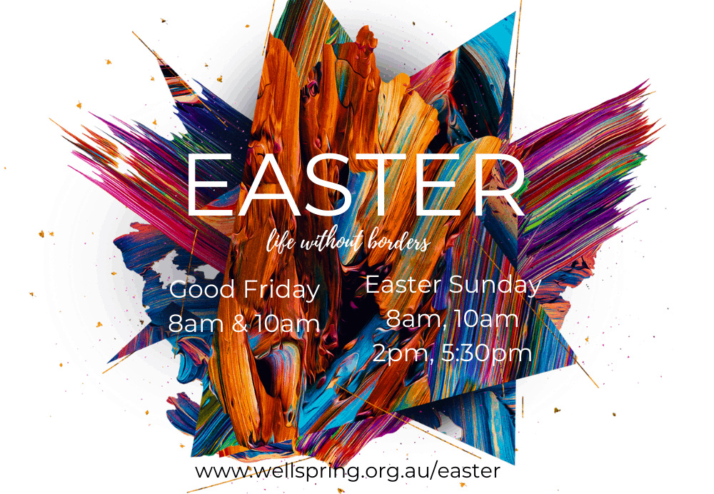 Easter website ad