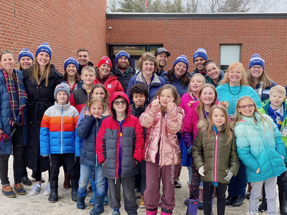 Winter Games 2020 Opening Ceremony & Press Conference at Waterboro Elementary