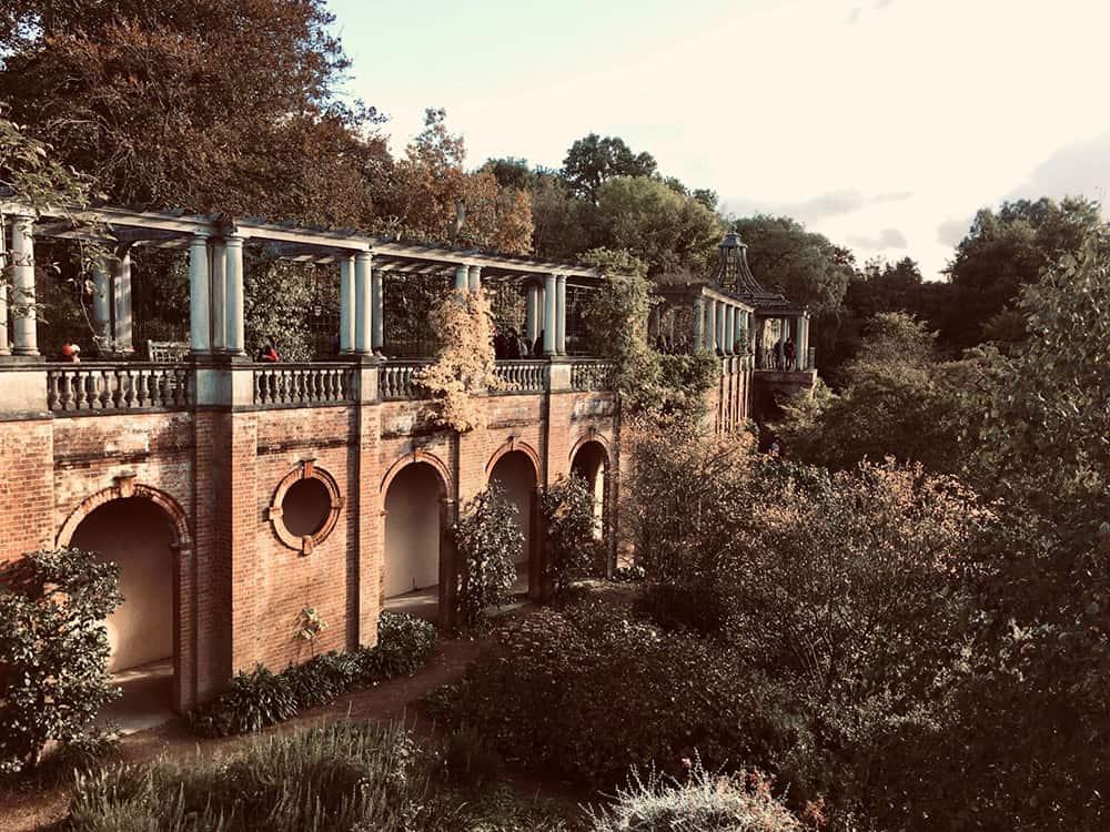 la pergola Hampstead Heath