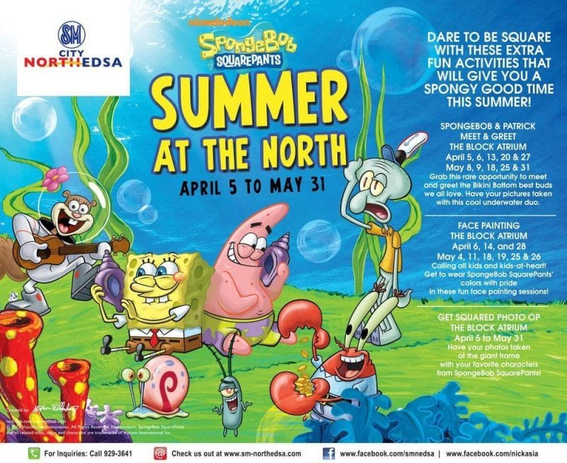 SpongeBob SquarePants - Summer At The North