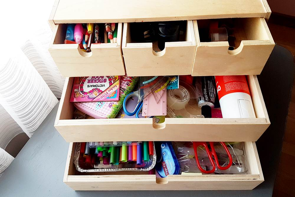 desk stationery organizer