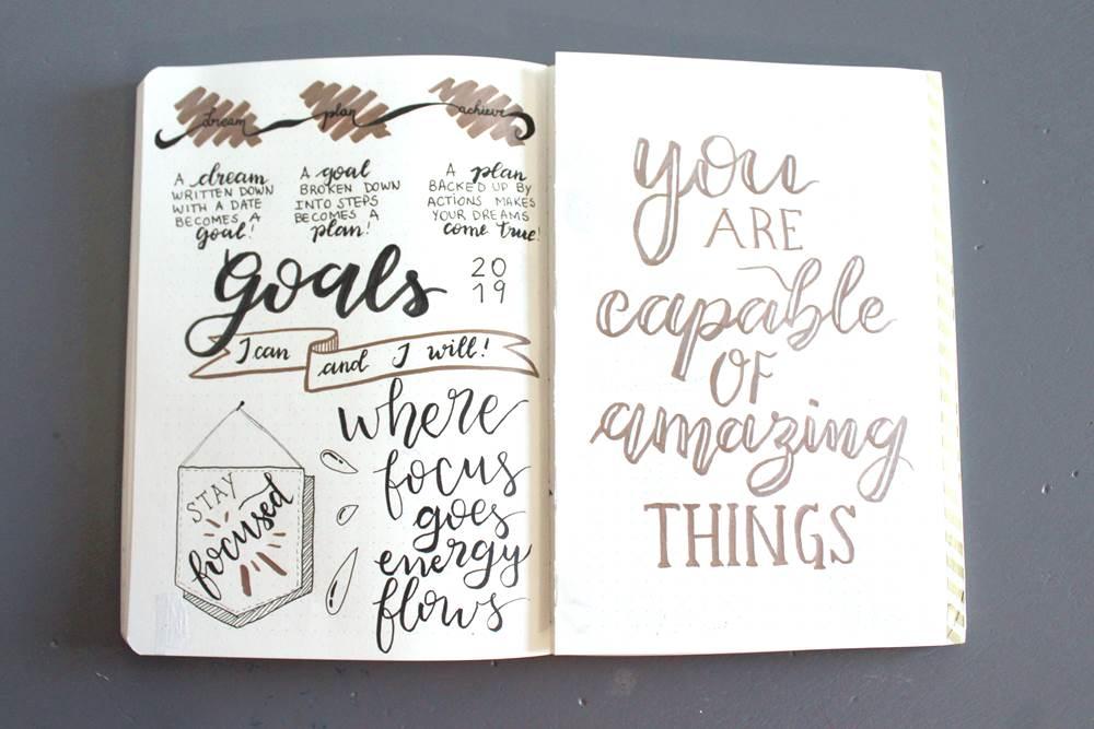 vision board goals