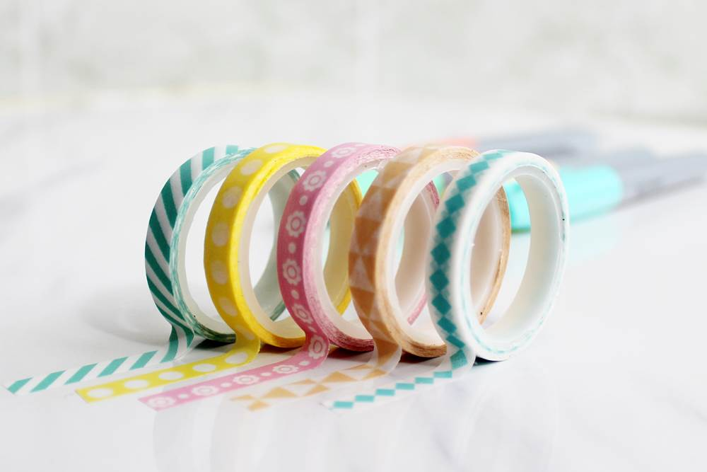 The best washi tape shops to get cute washi tapes