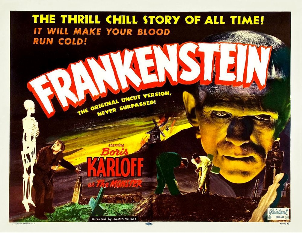 Frankenstein (1931), 1930s horror movies