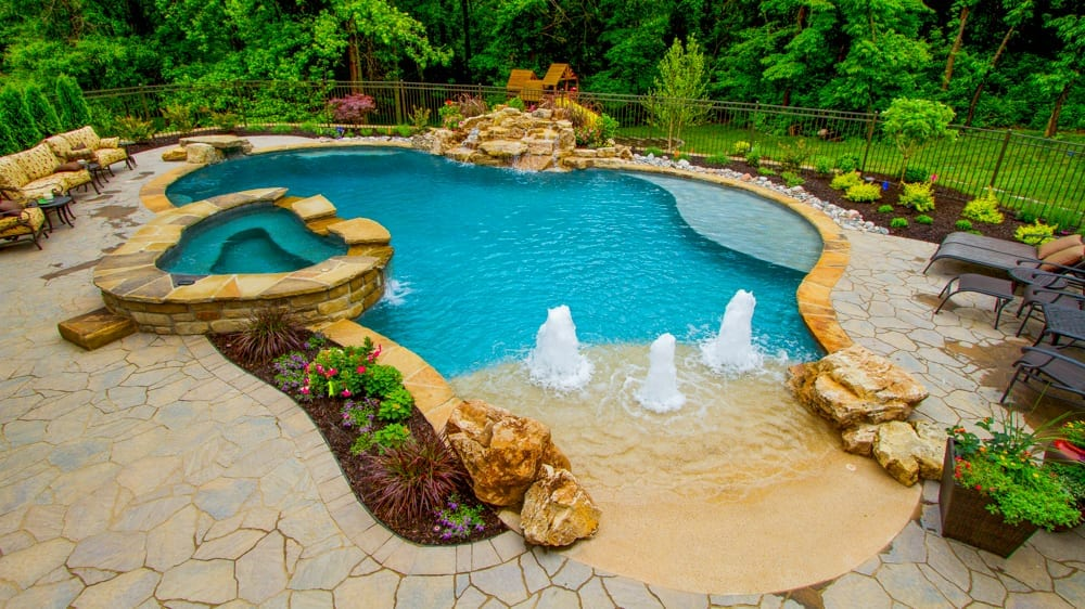 Free form Pool & Spa Design