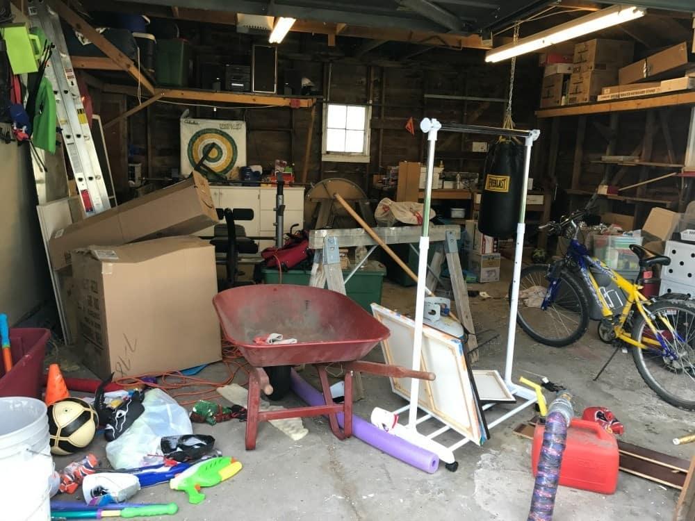 Declutter and Organize Garage