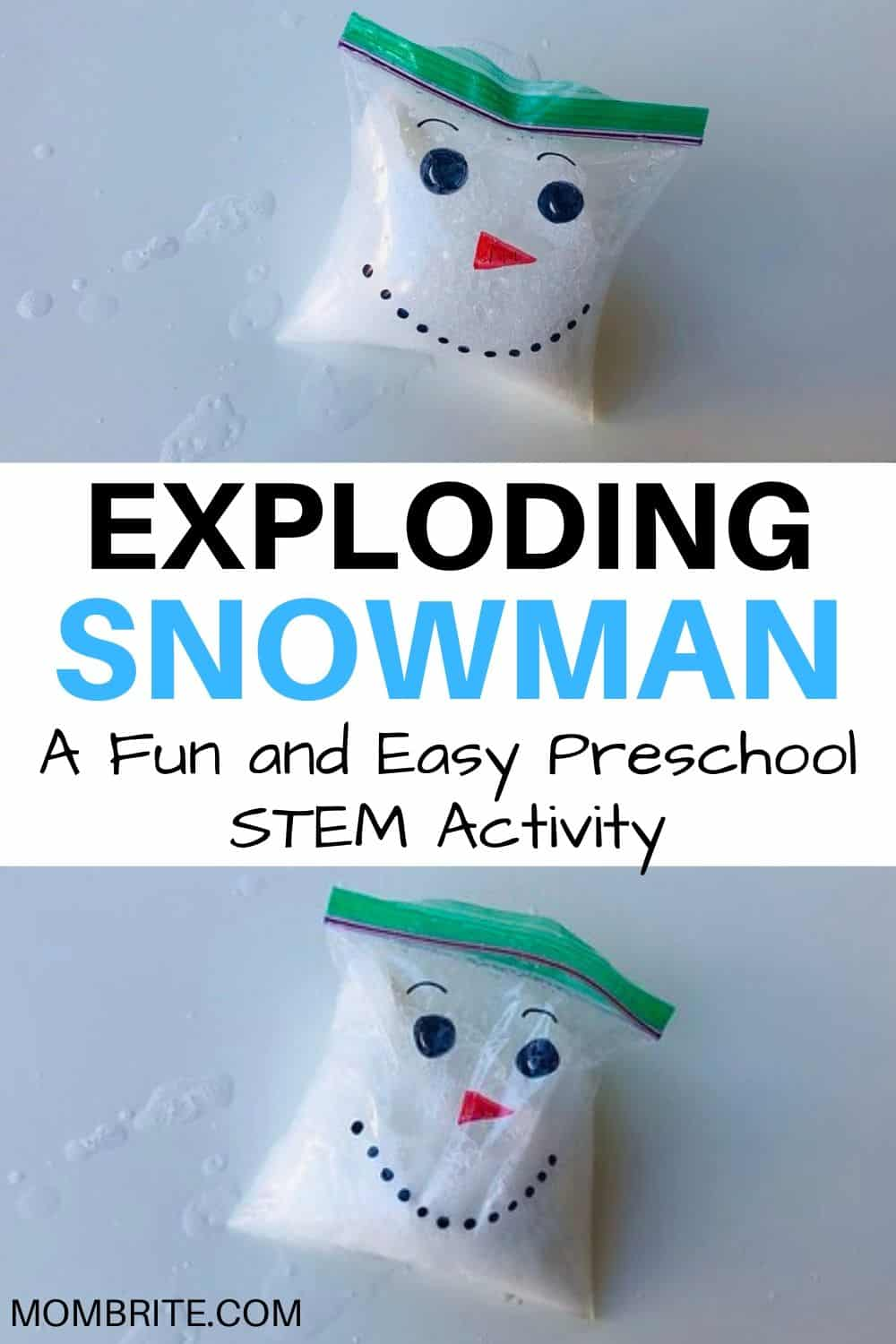 The Exploding Snowman Science Experiment Mombrite