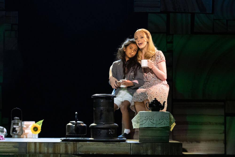 Sofia Poston as Matilda is fascinating