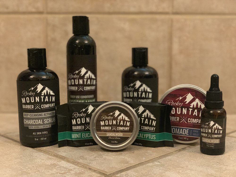 Rocky Mountain Barber Company Products
