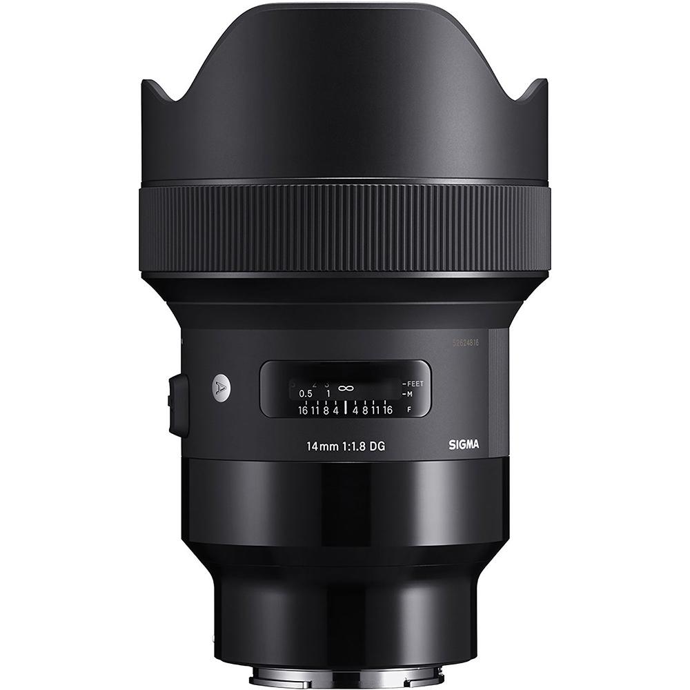 Sigma 14mm f/1.8 DG HSM Art | Meilleurs objectifs recommandés pour le Sony a7R IV