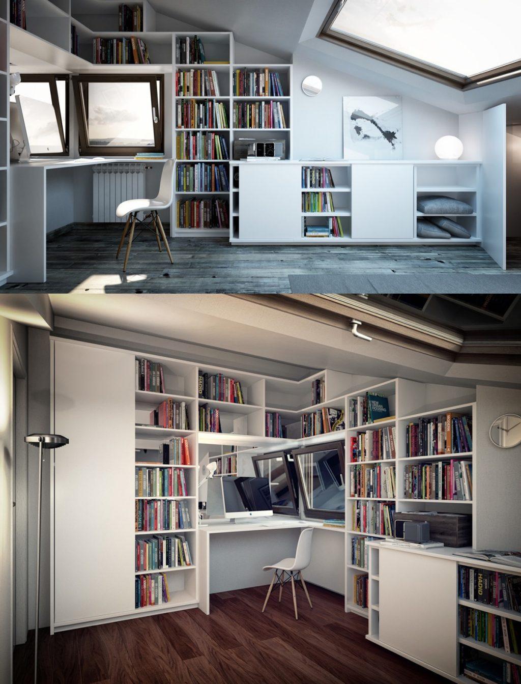 Home Office Idea: Attic